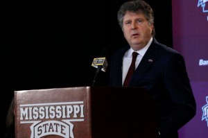 Mississippi State University head football coach Mike Leach