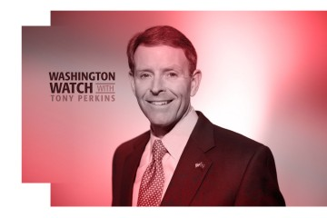 Washington Watch with Tony Perkins interviews Larry Taunton