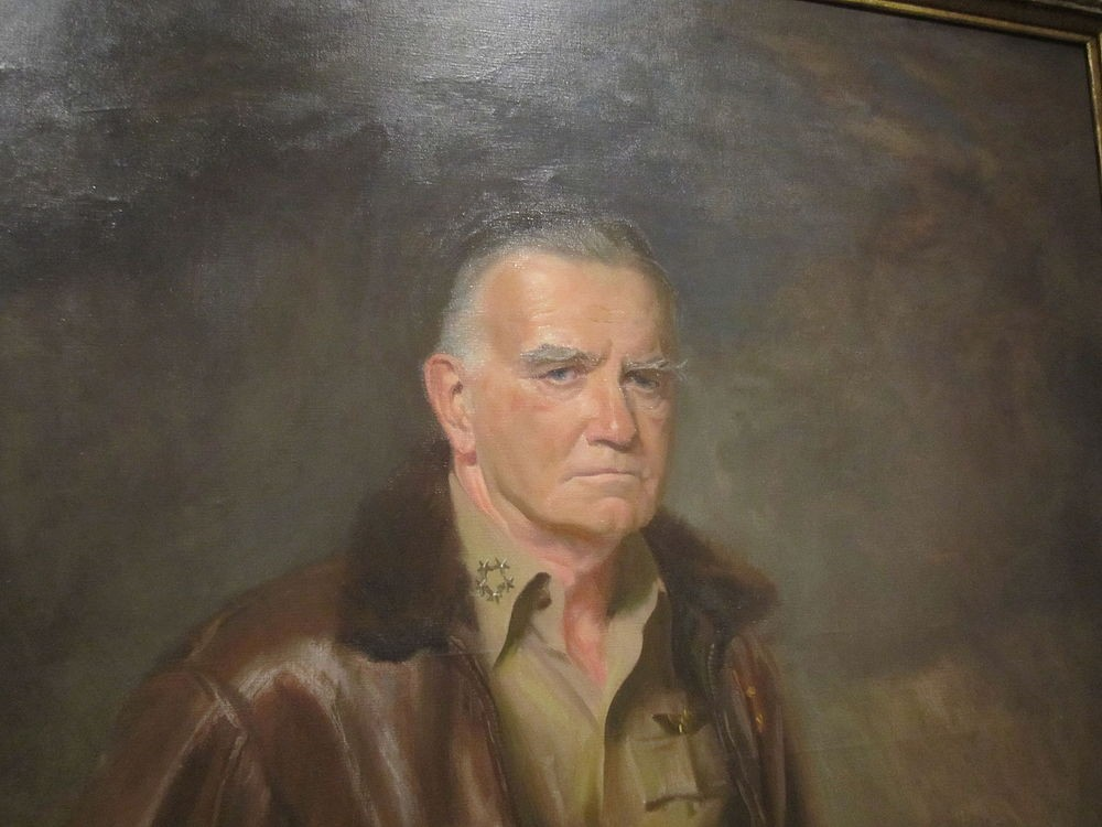 Admiral Halsey from the National Portrait Gallery